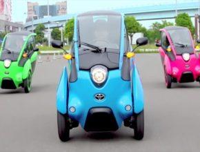 auto elektrické jezdítko Toyota i-Road