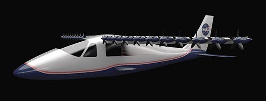 Elektrické letadlo NASA
