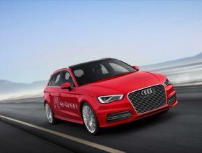 auto elektromobil Audi A3 e-tron elektrické auto