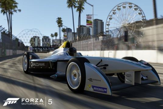auto Forza Motorsport Xbox One herní konzole elektrická formule Spark-Renault SRT_01E