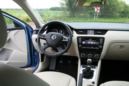 auto test Škoda Octavia G-TEC CNG zemní plyn