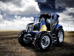 NH2 - vodíkový traktor společnosti New Holland.