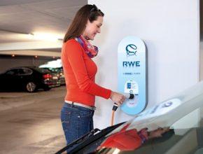dobíjení elektromobilů dobíjecí stanice Wallbox RWE