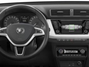 Interiér vozu Škoda Fabia třetí generace