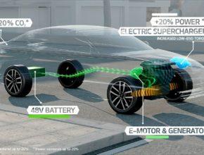 Koncept Kia Optima T-Hybrid demonstruje novou technologii hnacího ústrojí ještě před jejím uvedením do sériové výroby. Nové ústrojí kombinuje turbodiesel 1,7 l CRDi se 48V akumulátorem typu PbC (olovo-uhlík), malým elektromotorem a elektrickým přeplňováním.