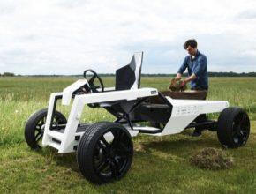 auto elektrotraktor elektrický traktor Kulan