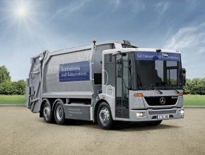 auto Mercedes-Benz Econic NGT CNG zemní plyn