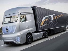 auto Mercedes-Benz Future Truck 2025 robotické kamiony trucky