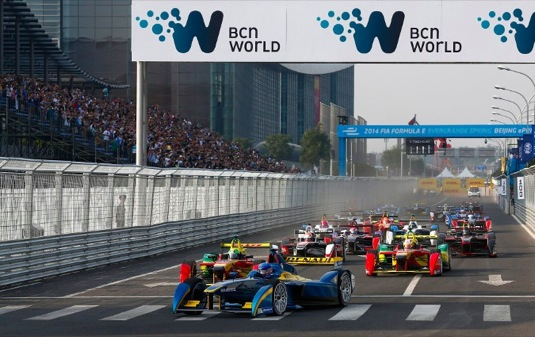 auto šampionát elektrických formulí Formule E