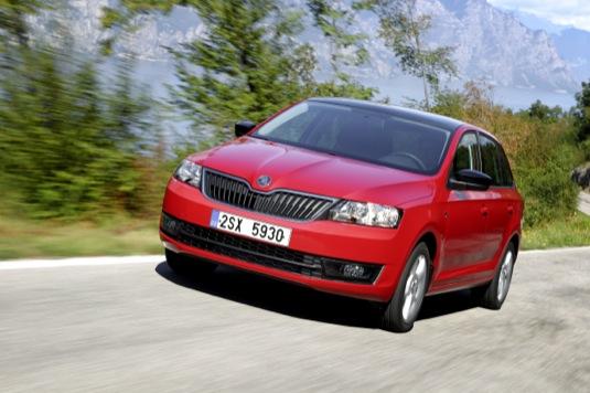 auto Škoda Rapid Spaceback Economy Run