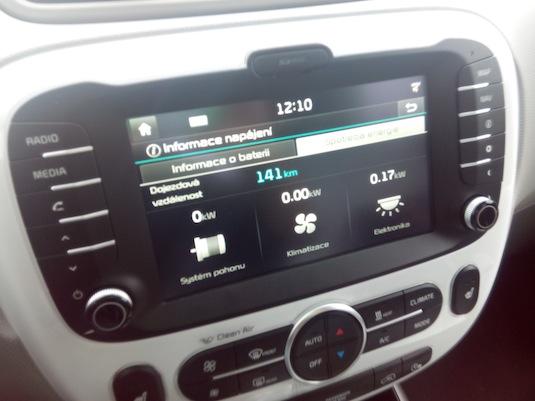 auto test první dojmy elektromobil Kia Soul EV
