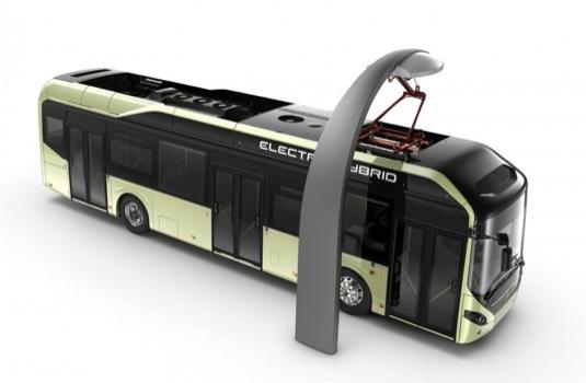 auto Volvo 7900 plug-in hybrid autobus