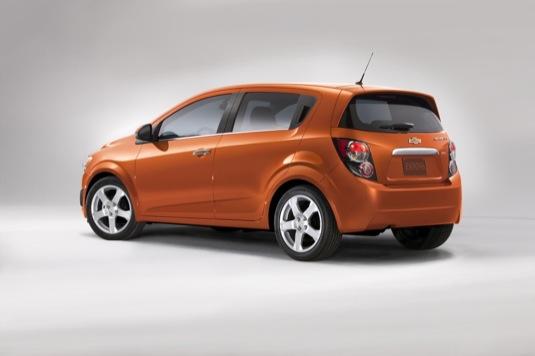 auto Chevrolet Sonic 2015 elektromobil