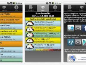 SmogAlaram - chytrá aplikace pro váš telefon