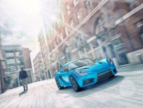auto elektromobil Detroit Electric SP:01