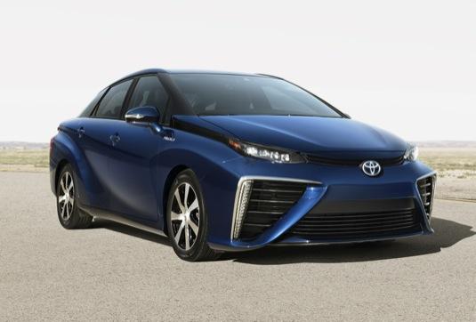 auto na vodík autosalon Paříž 2014 Toyota