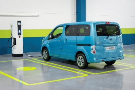 Nissan e-NV200 elektrická dodávka