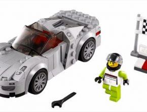 auto Porsche 918 Spyder plug-in hybrid LEGO stavebnice