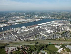 auto továrna Volvo Cars Gent Belgie