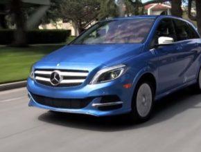 auto elektromobil Mercedes-Benz třídy B ED