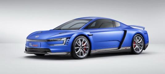 auto Volkswagen XL1 Sport