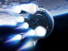 Raketový balon pro cesty do vesmíru
