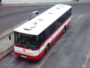 auto autobusy Praha zemní plyn CNG