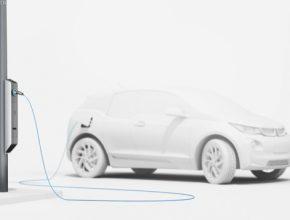 auto BMW Light and Charge pouliční osvělení lampy dobíjení elektromobilů dobíjecí stanice