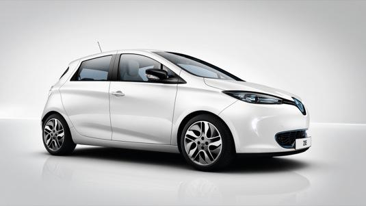 auto elektromobil elektroauto Renault Zoe