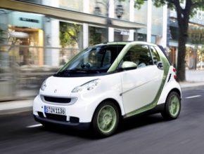 auto elektromobil Smart ED prodej elektromobilů Německo