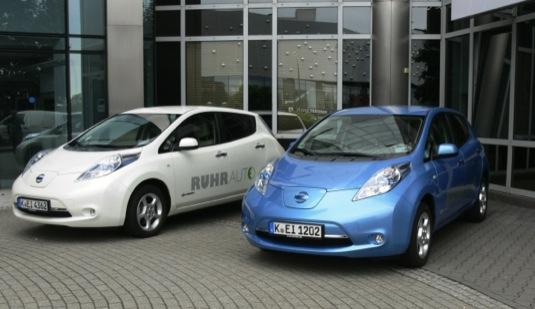 auto elektromobily Nissan Leaf rekord prodeje usa