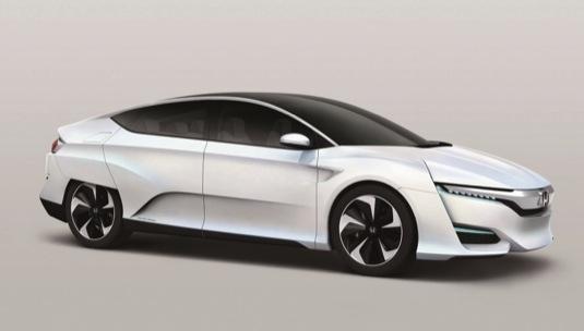 auto na vodík z Japonska- Honda FCV Concept