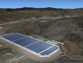 auto Tesla Motors giga-továrna baterie