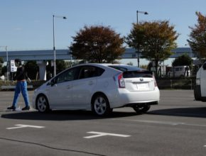 auto Toyota Prius hybrid bezpečnostní prvky standardy