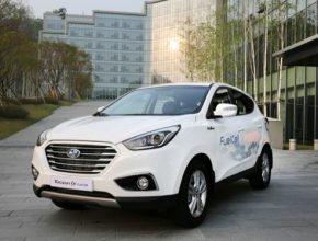 auto Hyundai Tucson ix Fuel Cell auto na vodík