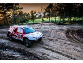 auto elektromobil Acciona Rallye Dakar