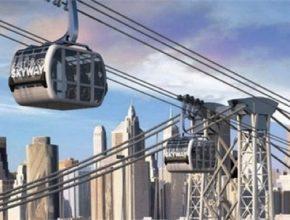 New York se možná už za pár let bude moct pochlubit vlastní lanovkou