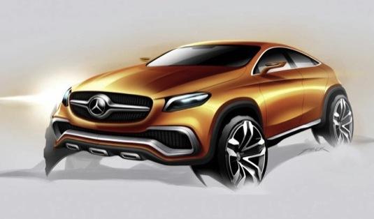 auto Mercedes-Benz koncept studie auto elektromobil vývoj