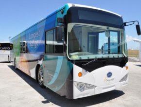 auto mezinárodní letiště sydney elektrobus elektrický autobus BYD