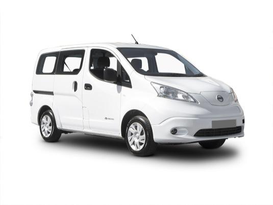 auto elektromobil elektrická dodávka elektroauto Nissan e-NV200