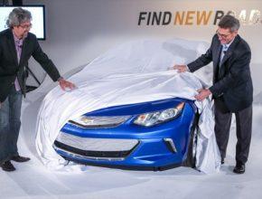 auto 2016 Chevrolet Volt plug-in hybrid druhá generace