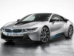 auto BMW i8 plug-in hybrid nový ke 100. výročí založení automobilky BMW