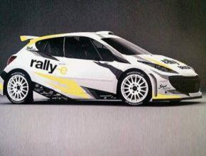 auto Stohl Racing rallye Peugeot 207 S2000