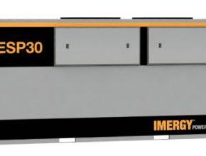 ESP30: Armádní baterie v kontejneru