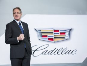 auto Johan de Nysschen, šéf americké značky Cadillac