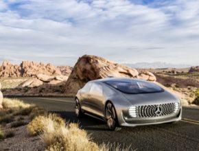 auto robotické auto na vodík Mercedes-Benz F 015