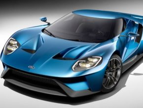 auto autosalon Detroit 2015 nový Ford GT