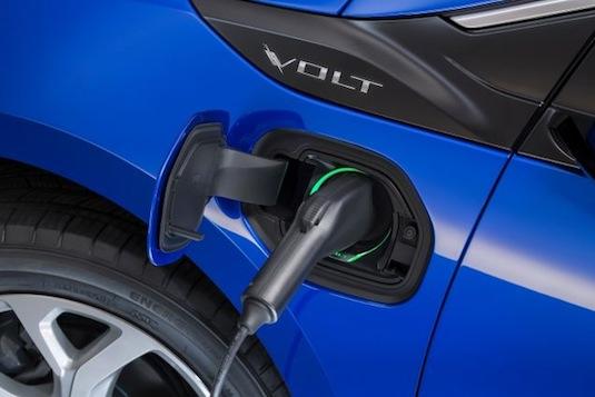 auto Chevrolet Volt plug-in hybrid 2016