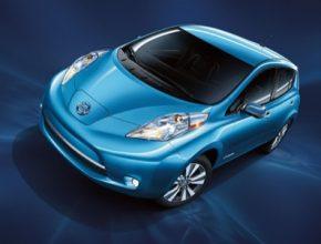 auto elektromobil Nissan Leaf v Jižní Koreji