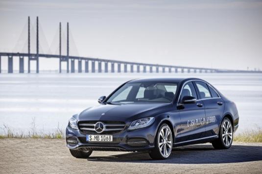 Autosalon Detroit 2015: Mercedes-Benz C350 Plug-in Hybrid
